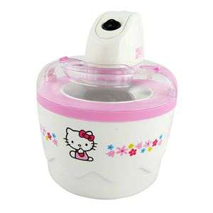 Sorbetière Kitchen Chef Hello Kitty DIC9401 Capacité 700ml