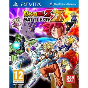 Dragon Ball Z Battle Of Z sur PS Vita