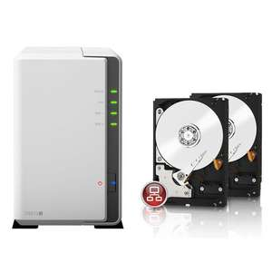 Nas Synology DS213J + 2x Disque dur Western Digital Red 3To