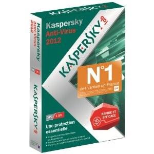 Antivirus Kaspersky 2012 3 postes 1 an