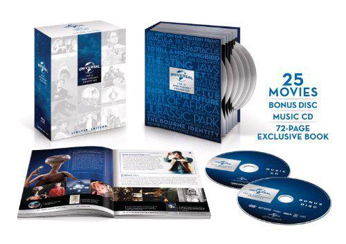 Coffret Blu-ray Collection 100ème Anniversaire Universal (25 films)