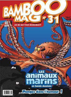 Magazine sur les BD humoristiques Bamboo MAG gratuit