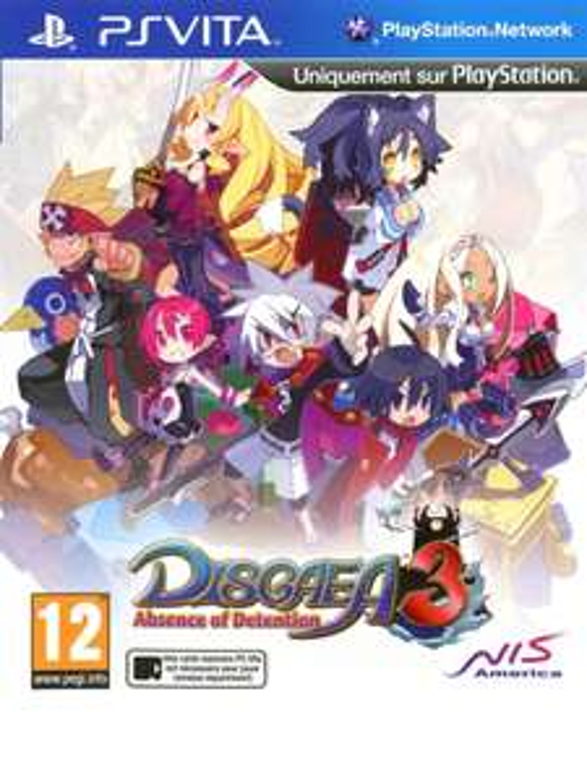 Disgaea 3 Absence of Detention sur PS Vita