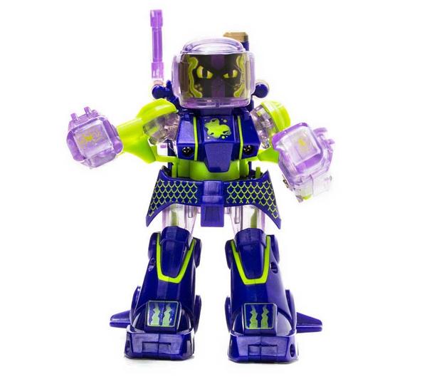 Robot radiocommandé Tomy Battroborg Single - Violet