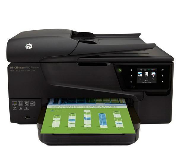 Imprimante jet d'encre multifonction HP OfficeJet 6700 Premium (Avec ODR 40€)