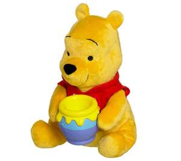 Peluche interactive Tomy Winnie l'ourson bon appétit Winnie