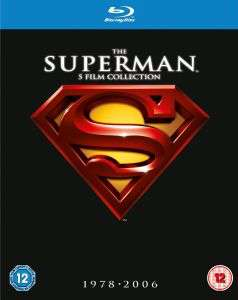 Coffret Blu-ray The Superman Collection 1-5 (1978-2006)