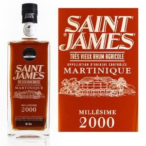 Rhum Saint James XO Millésime 2000 - Série limitée Martinique 1L