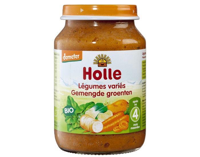 Petits pots bébé Bio Holle à -30% - Ex : Petit Pot Légume - 190 g