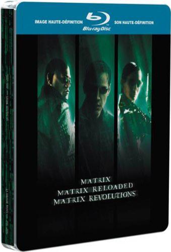 Blu-ray Trilogie Matrix avec boîtier métal