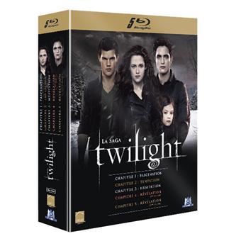 Coffret Blu-ray Intégrale Twilight