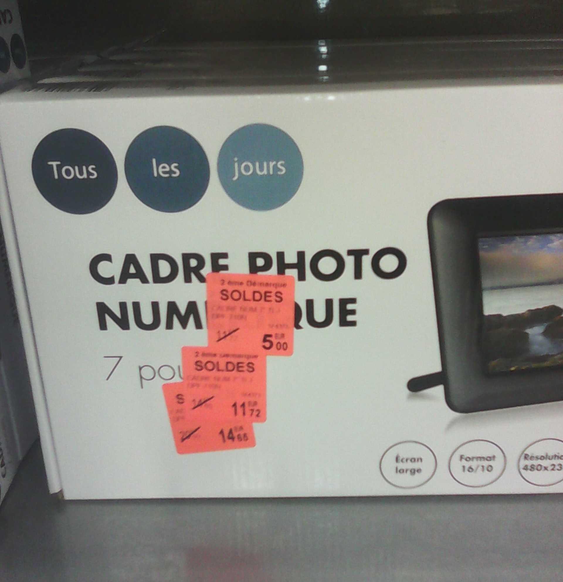 """Cadre photo 7"""" Texet DPF-710N 480x234"""