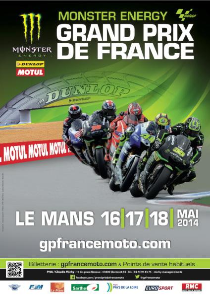 Billet Grand prix de france - 2014