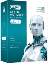 Eset Antivirus NOD32 ( Eset Smart Security aussi à 50%)