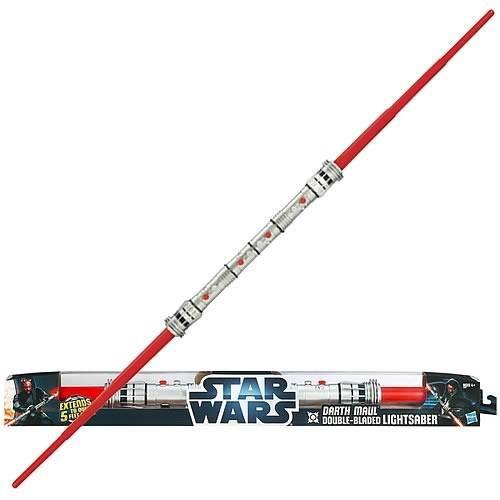 Sabre Laser Hasbro Double Lames Star Wars Darth Maul
