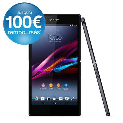 "Smartphone 6.3"" Sony Xperia Z Ultra Neuf (Avec ODR de 100€)"