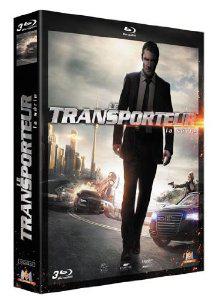 Coffret 3 Blu-ray Le Transporteur, la série