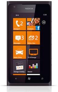 Smartphone Nokia Lumia 900 - 16Go - Noir - Avec ODR (-100€)