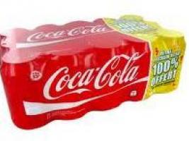 Pack de 15 canettes Coca-Cola 100% remboursé (sous forme de bon d'achat)