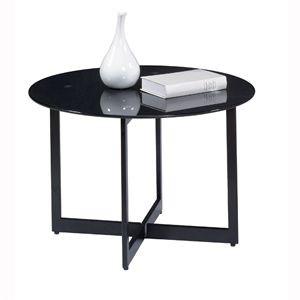 Table basse Ronde MAKI Noir