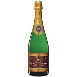 3 bouteilles de Champagne Charles de Cazanove 75cl