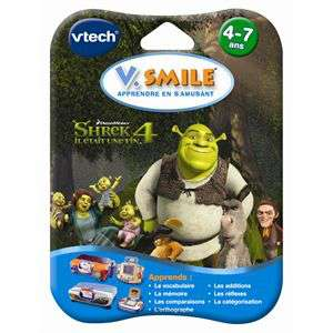 Jeux VSMILE : Shrek 4, Motion Up, Motion football - L'unité