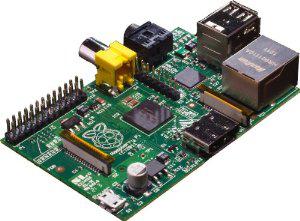 Carte Raspberry Pi Modell B Rev 2.0, 512MB