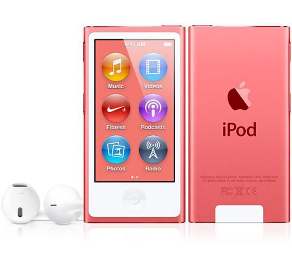 Ipod Nano (7ème génération) 16Go - Plusieurs coloris