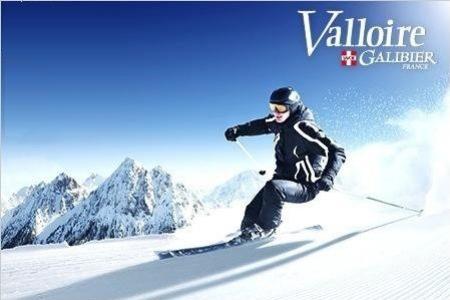 Forfait journée ski à Valloire (uniquement valable les samedi)