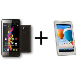 Pack Smartphone Archos 45 Titanium (3G+) + Tablette Archos 70 Xenon 3G