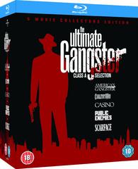 Coffret Blu-ray The Ultimate Gangster : L'Impasse, Casino, Public Enemies, American Gangster, Scarface