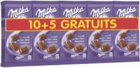 15x Tablette de chocolat Milka au lait du pays alpin