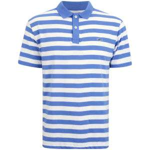 Polo Homme Gola à rayures Bleu/Blanc (Tailles S à XL)