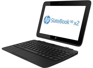 "Tablette 10.1"" Full HD HP Slatebook 10-h040sf x2 - NVIDIA Tegra 4 Quad Core (1,8 Ghz) - 2 Go - 32 Go"