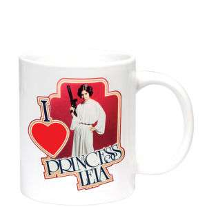 Mug I Love Princess Leia (Star Wars)