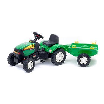 Tracteur Falk Farmer 976A + Remorque 2/5 ans