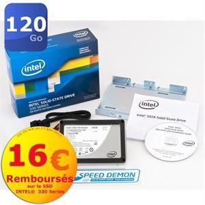 "SSD Intel 330s de 120 Go 2.5"" - Avec ODR (-16€)"
