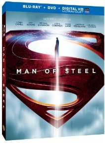 Combo Blu-ray + DVD Man of Steel