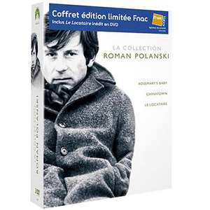 Coffret 3 DVD Roman Polanski (Le Locataire, Chinatown, Rosemary's Baby) - Edition spéciale Fnac