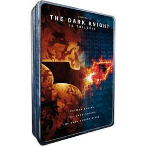 Coffret DVD The Dark Knight: La Trilogie