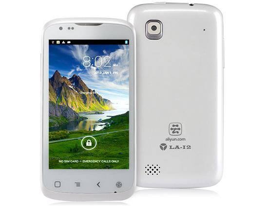 "Smartphone 4"" HotItem (Android 4.1.1, 1.0GHz, 256 Mo)  à 7.94€ et Beidou LA-I2 (Android 4.0.4, Qualcomm 1.2GHz Dual Core, 512 Mo, 4 Go)"
