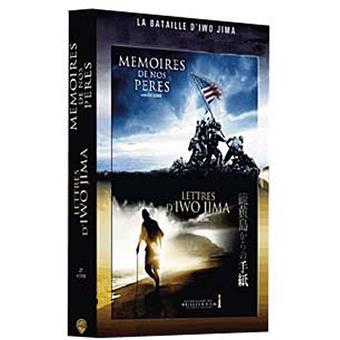 Coffret 2 DVD Clint Eastwood Mémoires de nos pères et Lettres d'Iwo Jima