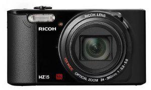 Appareil photo numérique Ricoh HZ15 16 Mpix, Zoom Optique 15 x + Etui + Trépied + Carte Mémoire 8 Go