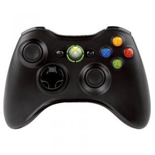 Manette sans fil Xbox 360 noire / livraison gratuite