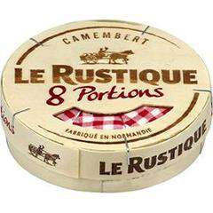 Camembert Le Rustique en portions