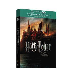 Harry Potter Et les reliques de la mort, 1ère et 2ème Partie (6 Blu-rays : 2x 2D, 2x 3D Active, 2x Bonus)
