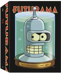 Coffret DVD Futurama saisons 1 à 4 + 4 long-métrages (saison 5)
