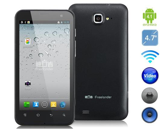 "Smartphone 4.7"" Freelander I20 / Newman N2 (Quad-Core 1.6 GHz)"