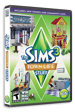 Les Sims 3 : Vie Citadine Kit gratuit sur PC pour tous