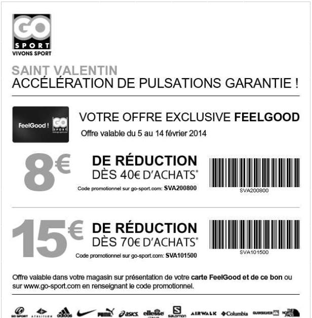 8€ de réduction dès 40€ d'achats ou 15€ dès 70€ (cumulable avec les soldes, en ligne ou en magasin)
